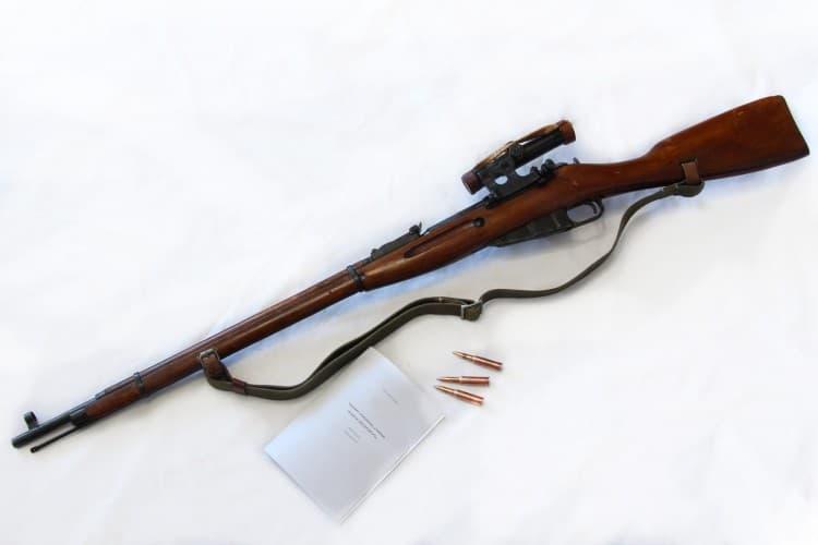 СВМ (снайперская винтовка Мосина)