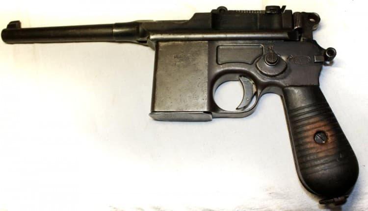 Mauser 712 (Маузер К-96 модель 712)