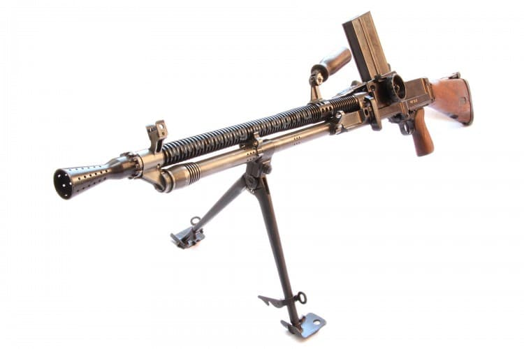 Макет пулемета ZB-30