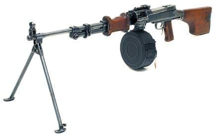 Ручной пулемёт Дегтярёва - РПД-44